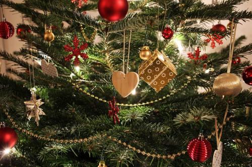 クリスマスツリ―飾り